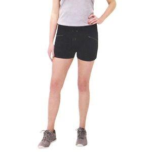 ACTIVE LIFE Athletic Shorts Zipper Pockets Stretch